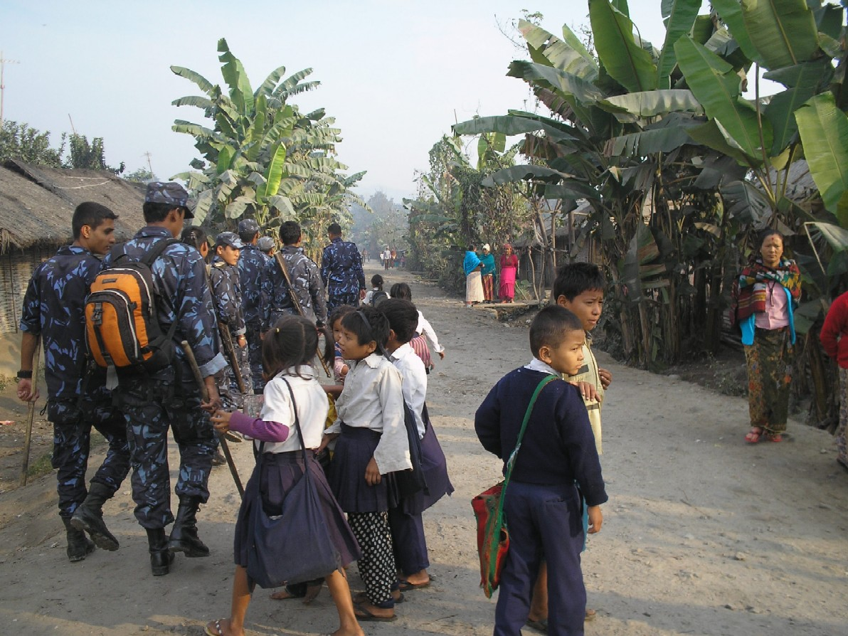 bhutanese refugee camp under fire prakass in blogging