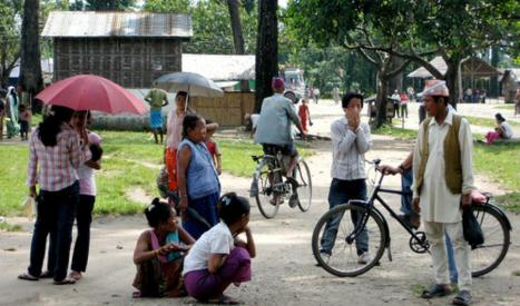 The elderely folks in Beldangi 2(photo:flickrs)