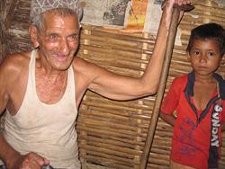 Like many elderly Bhutanese refugees in Nepal, 96-year-old Pahalman Bhattarai wants to return to his homeland(Photo: Naresh Newar/IRIN)