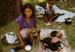 A Refugee woman in Maidhar refugee camp(photo:newint)