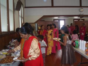 'Sel roti' and varieties of dainty Cuisine were prepared as 'Dar'