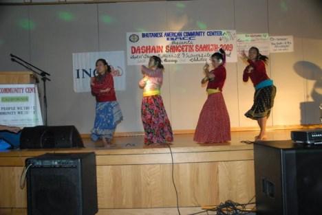 Artist from chhitiz club dancing