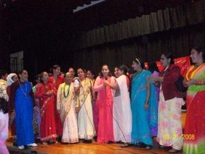 Women singin Bhailini........