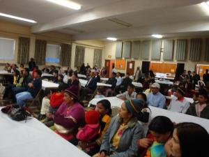 Bhutanese gathered at the function