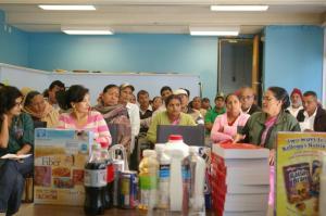 Senior Bhutanese citizens at the program.